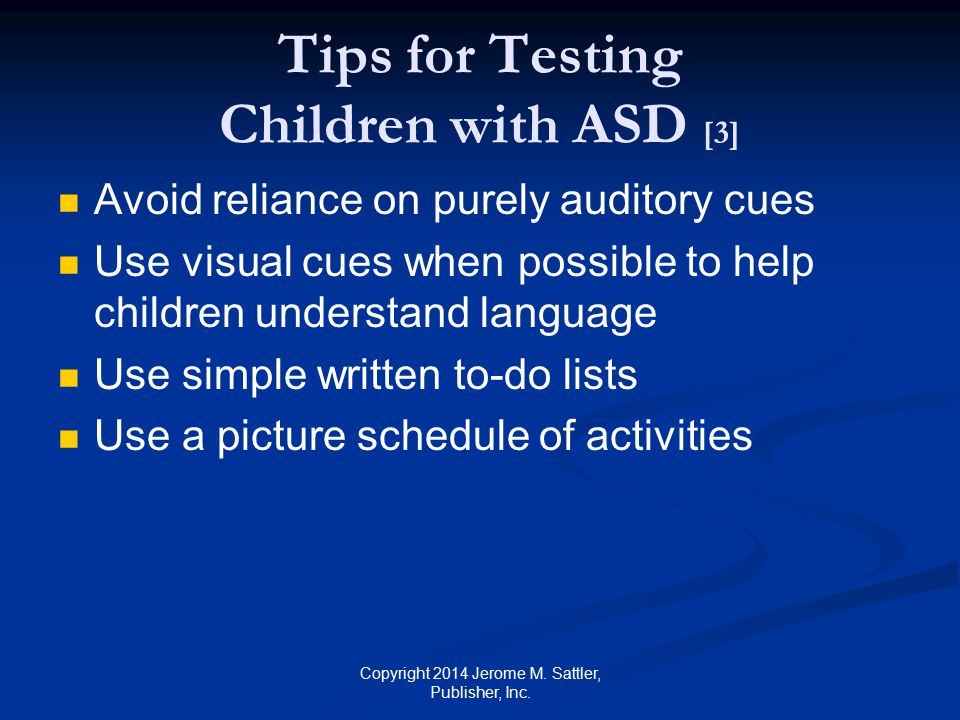 Tips for Testing Children with ASD [3]